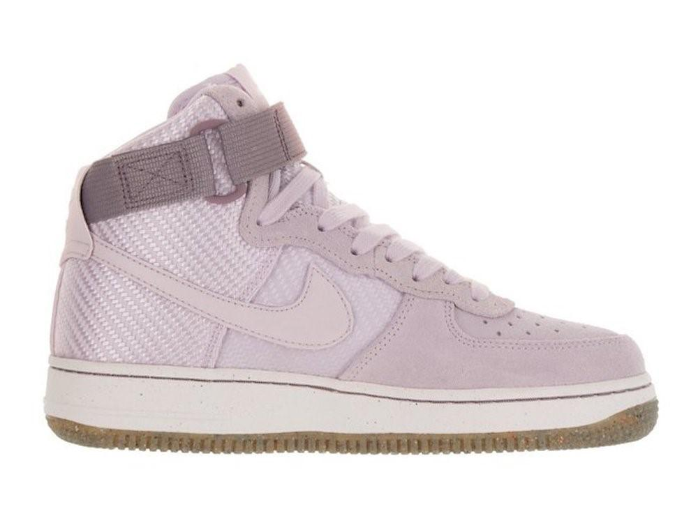 buy popular 0e1c2 a9889 Lyst - Nike Air Force 1 Hi Prm Bleached Lilac bleached Lilac ...