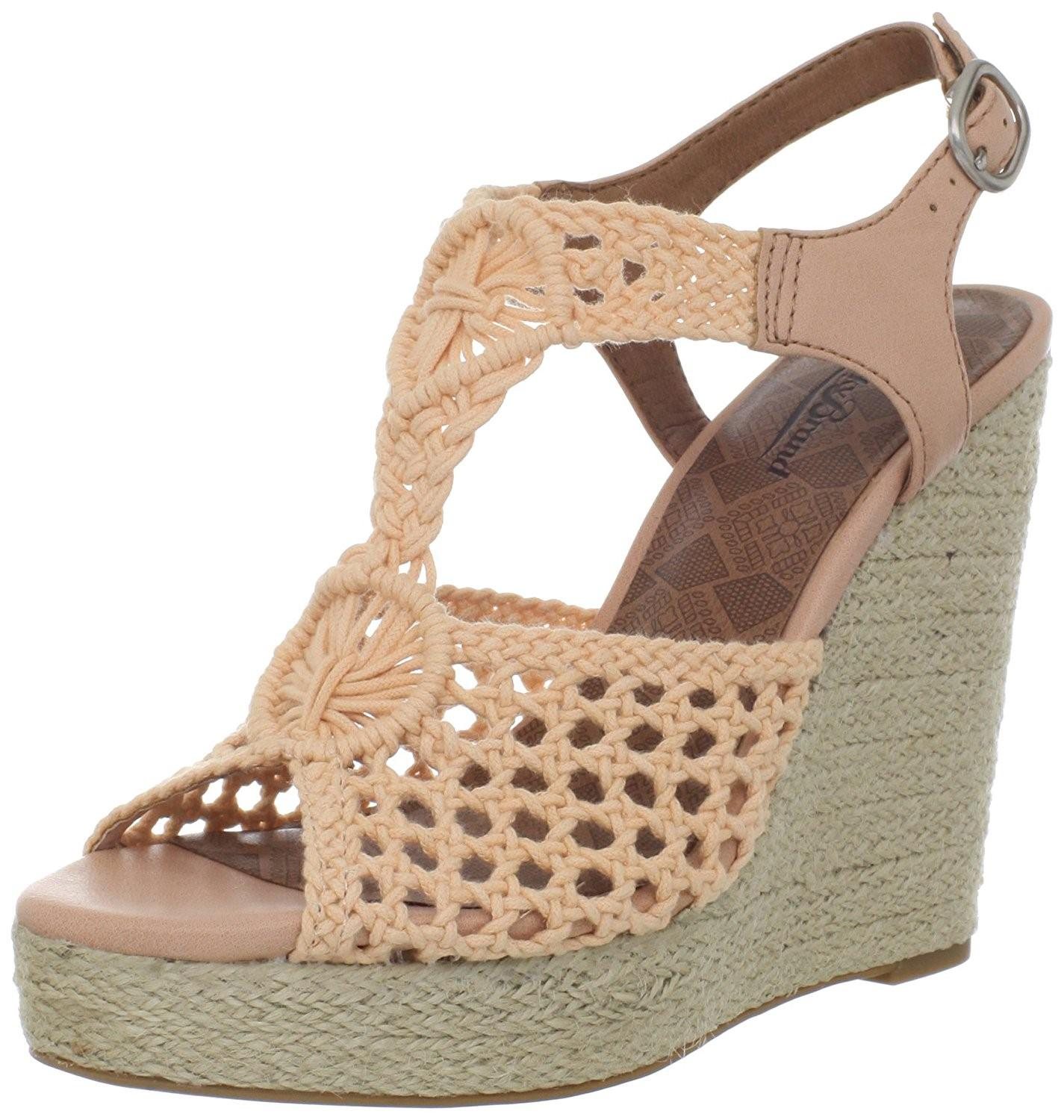 590f6ae48b3 Lyst - Lucky Brand Lucky Women s Rilo Wedge Sandal in Red