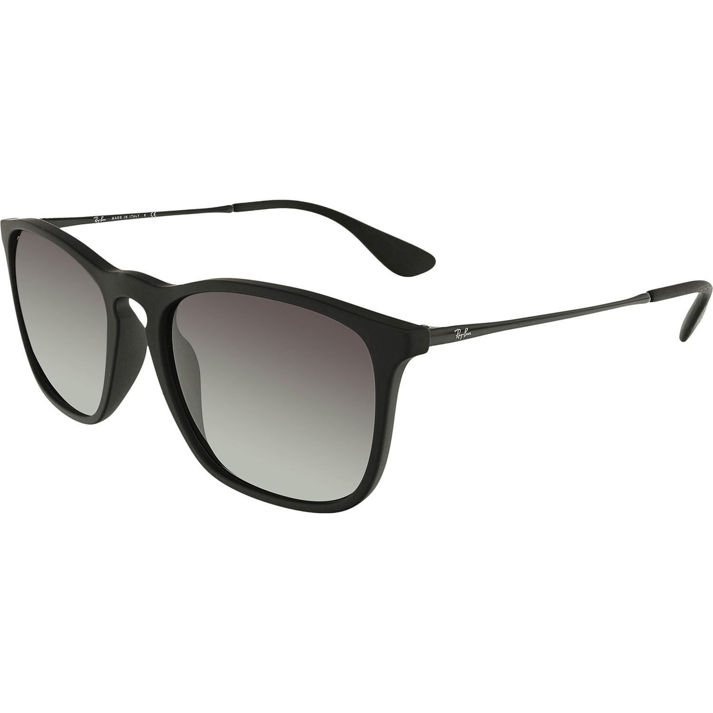 15c863b680b Lyst - Ray-Ban Erika Rb4171f-710 t5-54 Black Square Sunglasses in Black