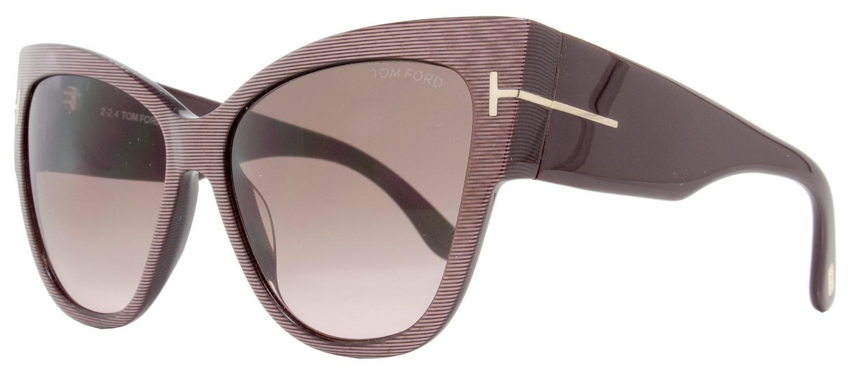 992fa36a29b9 Lyst - Tom Ford Ft0371 Anoushka Cateye Sunglasses in Brown