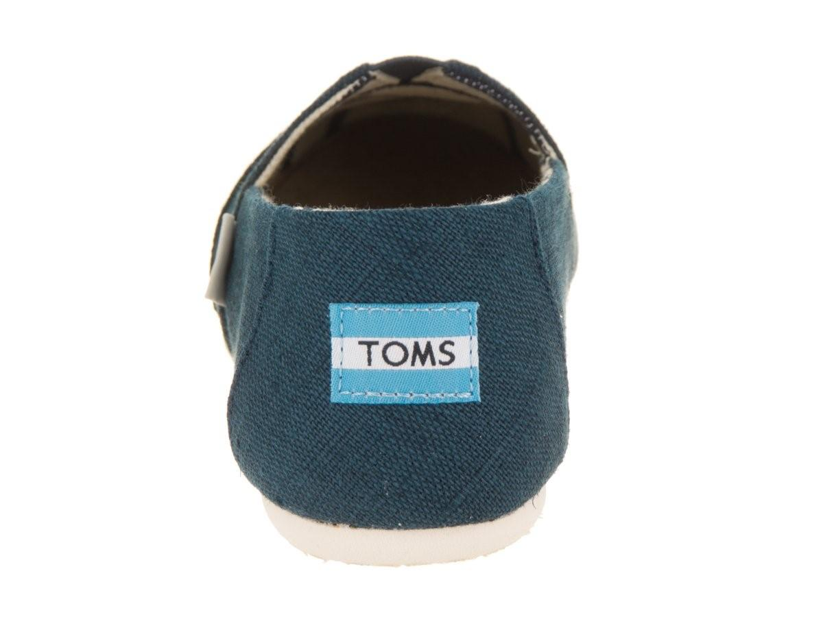 0aa3d8afbcd TOMS - Blue 10011671  Classic Casual Majolica Heritage Canvas Sneaker -  Lyst. View fullscreen