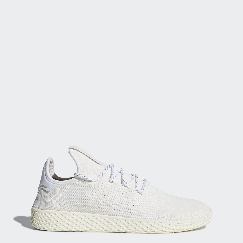 hot sale online 3dbf2 75ce3 adidas. Men s White Pharrell Williams Hu Holi Tennis Hu Bc Shoes
