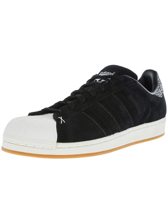 lyst adidas superstar nucleo nero / bianco originale caviglia alta