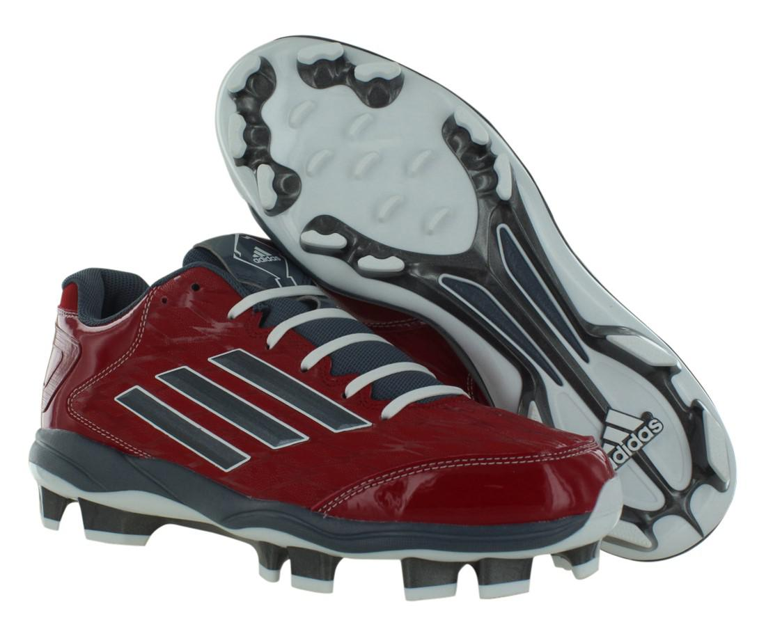 0e6791674848 Lyst - adidas Power Alley 2 Tpu Bsbl Baseball Shoes Size 16 in Red ...