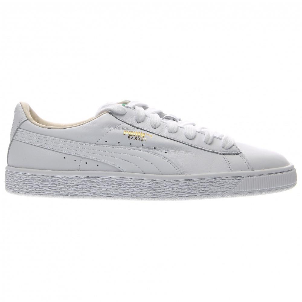 1308a537e27 Lyst - PUMA 354367-17   Basket Classic Lfs Fashion Sneaker White (9 ...