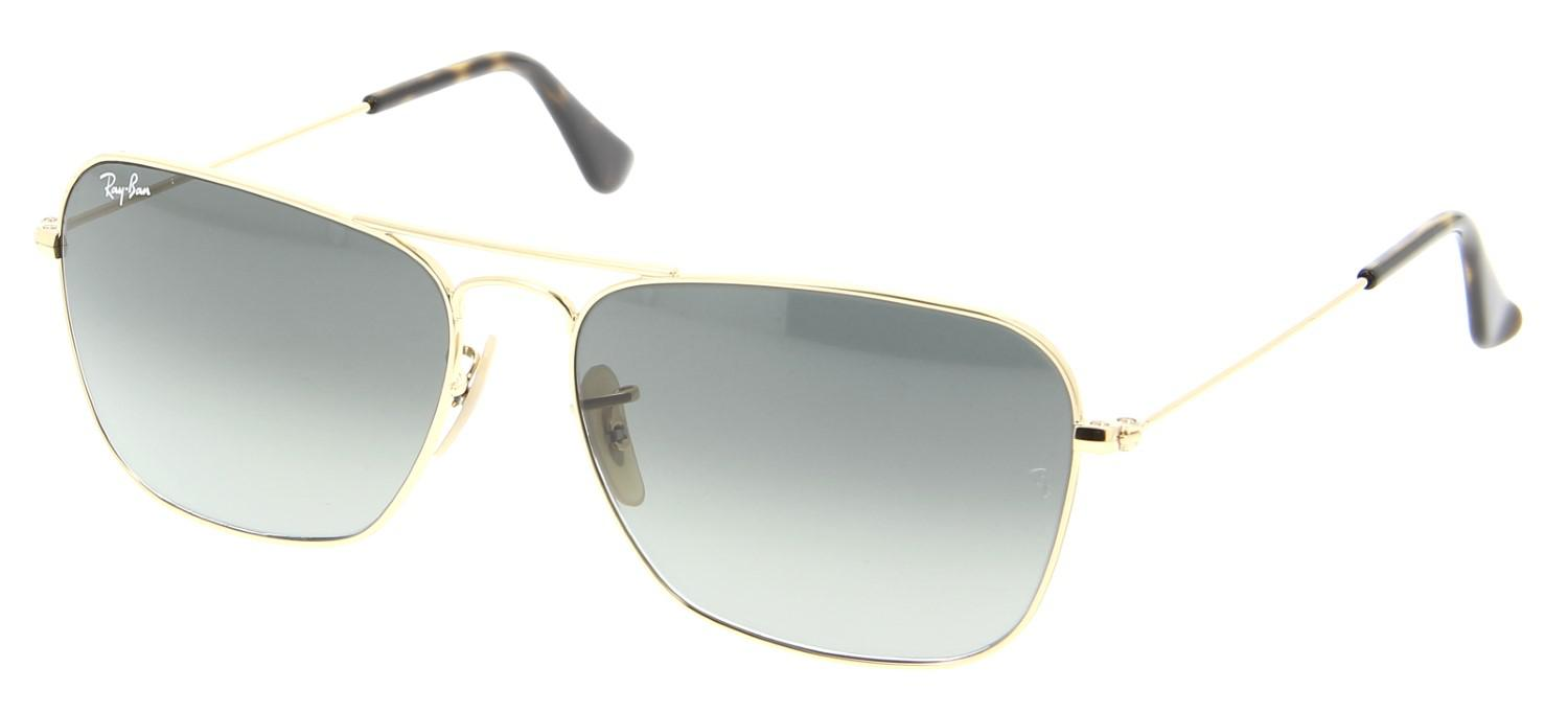 e15929d61a4 Lyst - Ray-Ban 0rb3136 181 71 55 Gold light Grey Gradient Dark Grey ...