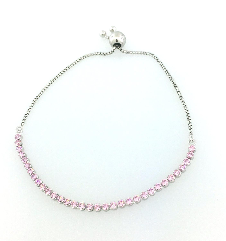 b7659b093 1; 2. Pandora - Multicolor Pink Sparkling Strand Bracelet : 590524pcz:2 -  Lyst. View fullscreen