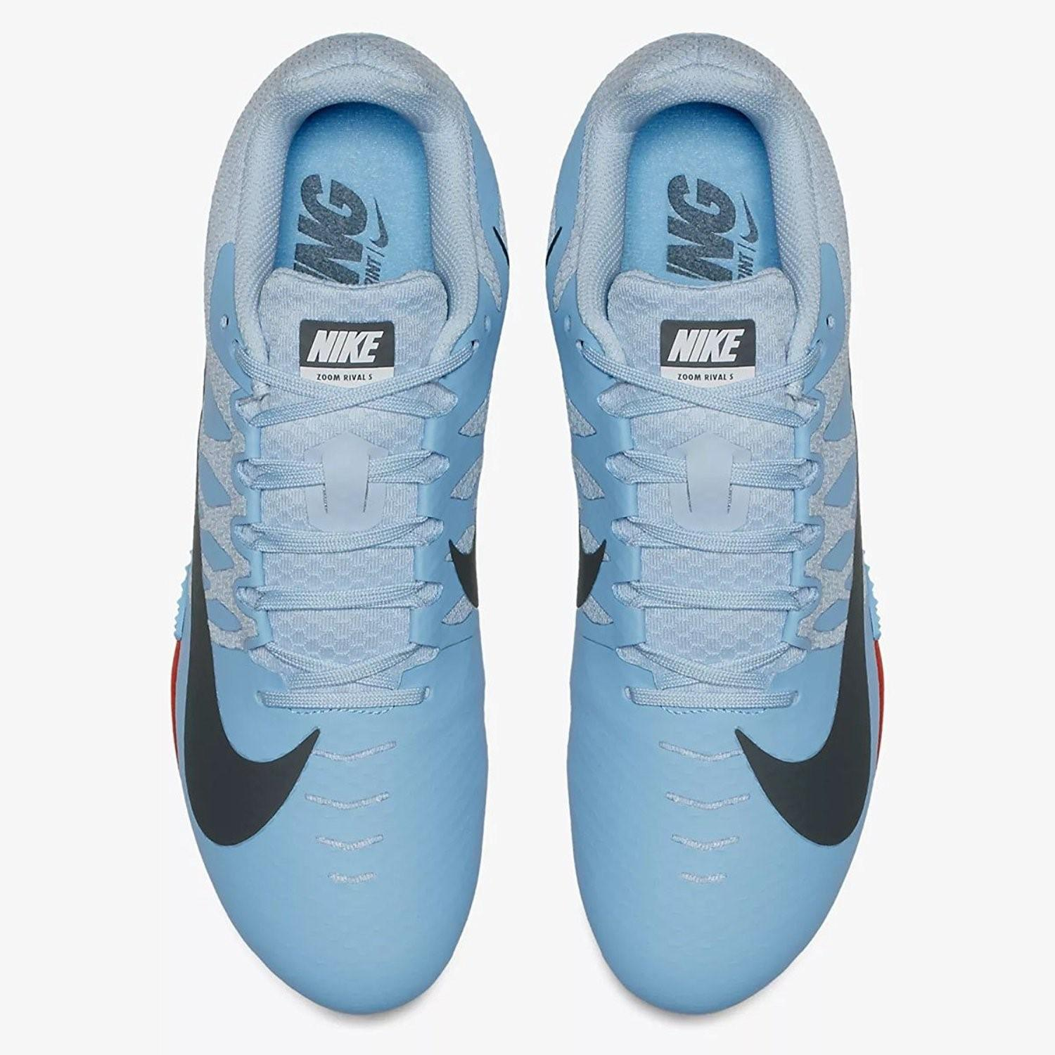 Lyst - Nike Zoom Rival S 9 Track Spike 907564-446 in Blue for Men 19f60e7af