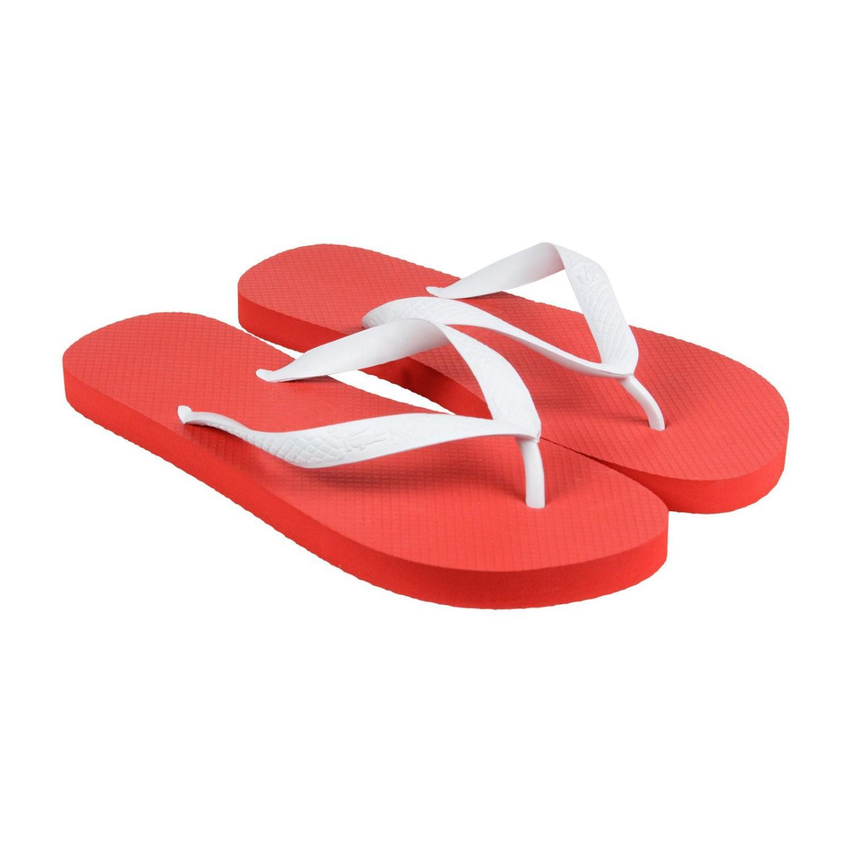 aad437490416 Lyst - Lacoste Barona Nte Black Dark Blue Mens Flip Flops Sandals in ...