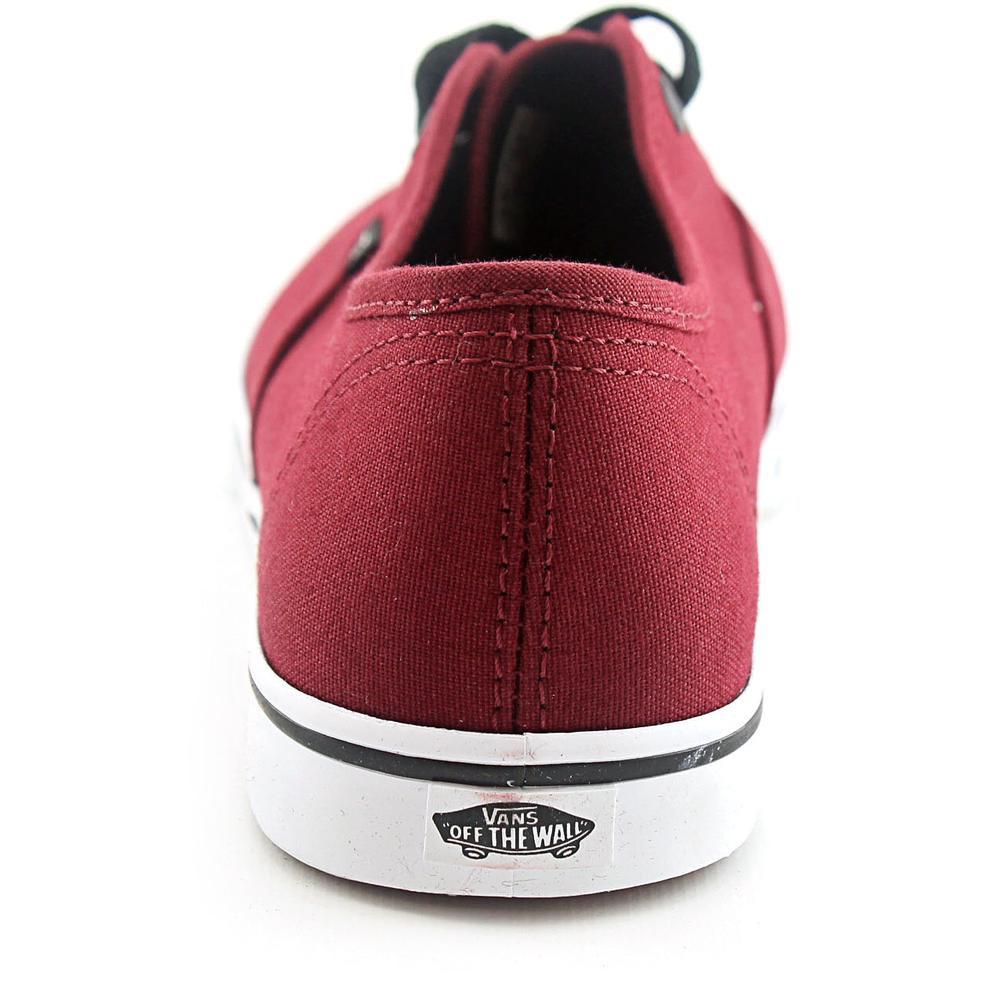 93cee4d414 Lyst - Vans Authentic Lo Pro Women Us 6.5 Burgundy Sneakers in Red