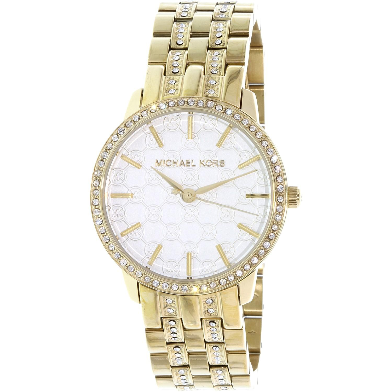 2b3ac4147590 Lyst - Michael Kors Mk3214 Wren Watch in Metallic