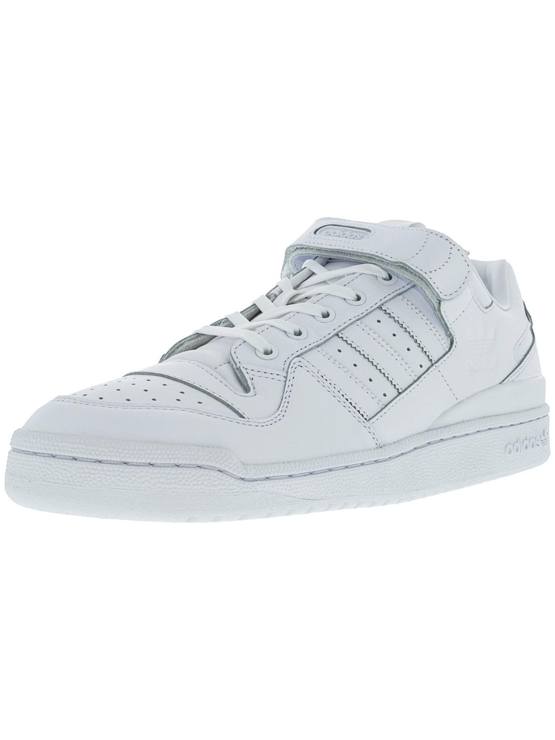 fd23063e6b6516 Lyst - adidas Ba7276   Forum Lo Refined Originals White Casual Shoe ...