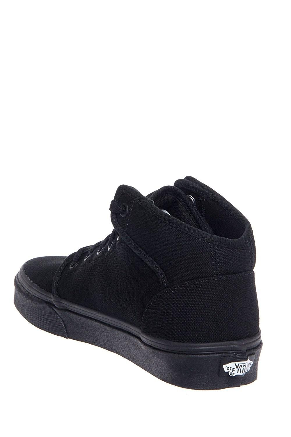 d02ebba3d9fb Lyst - Vans Mens 106 Mid Low Top Lace Up Fashion Sneaker in Black ...