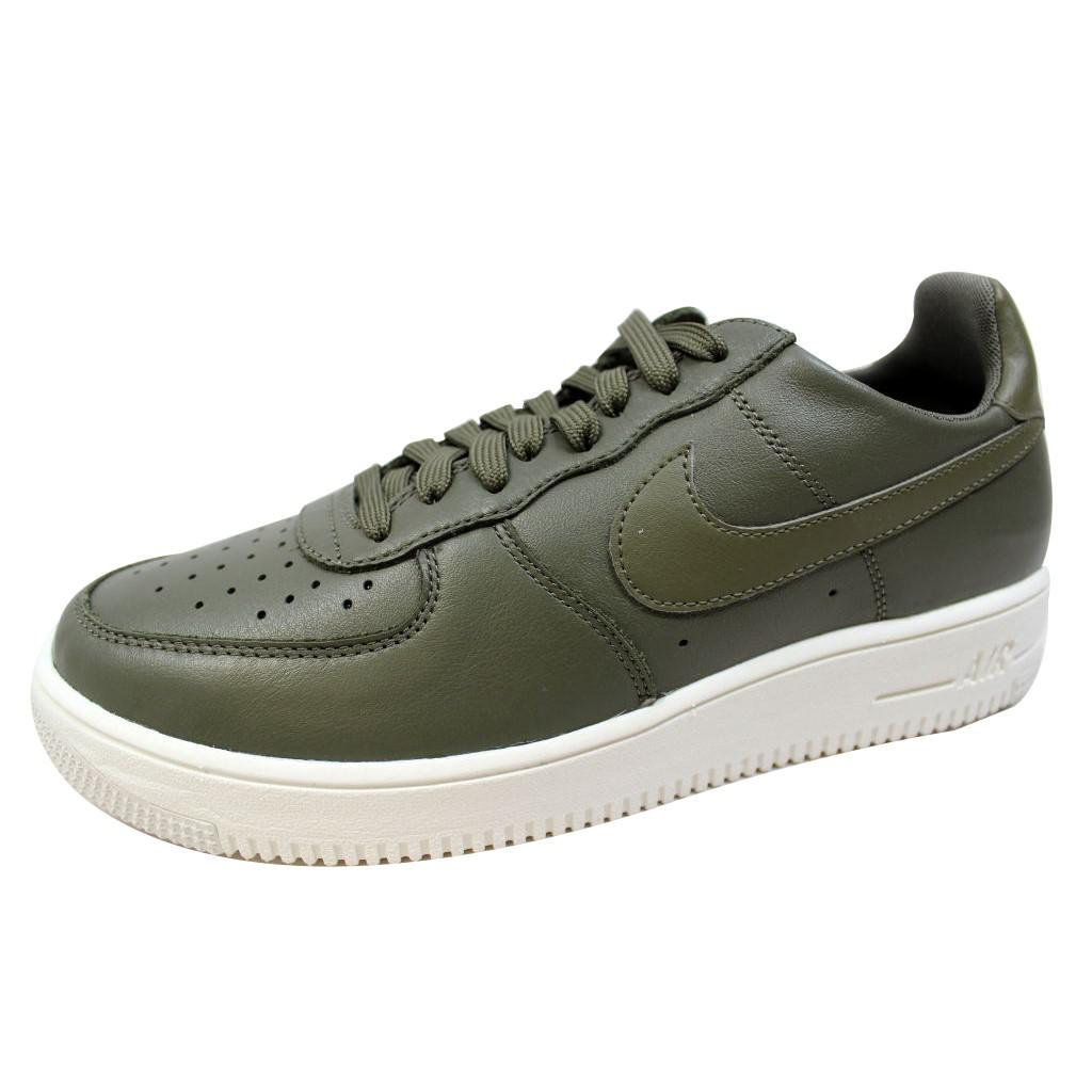 Nike Air Force 1 UltraForce Leather Medium Olive Size 7.5 Mens US