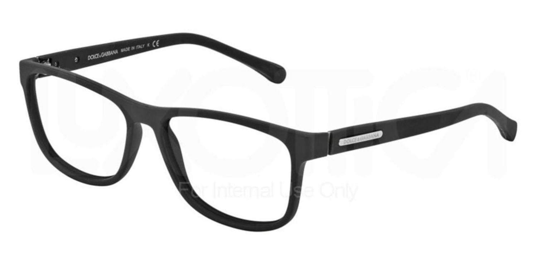 e736eb07981c Lyst - Dolce   Gabbana Eyeglasses Dg 5003 2616 Black Rubber in Black ...