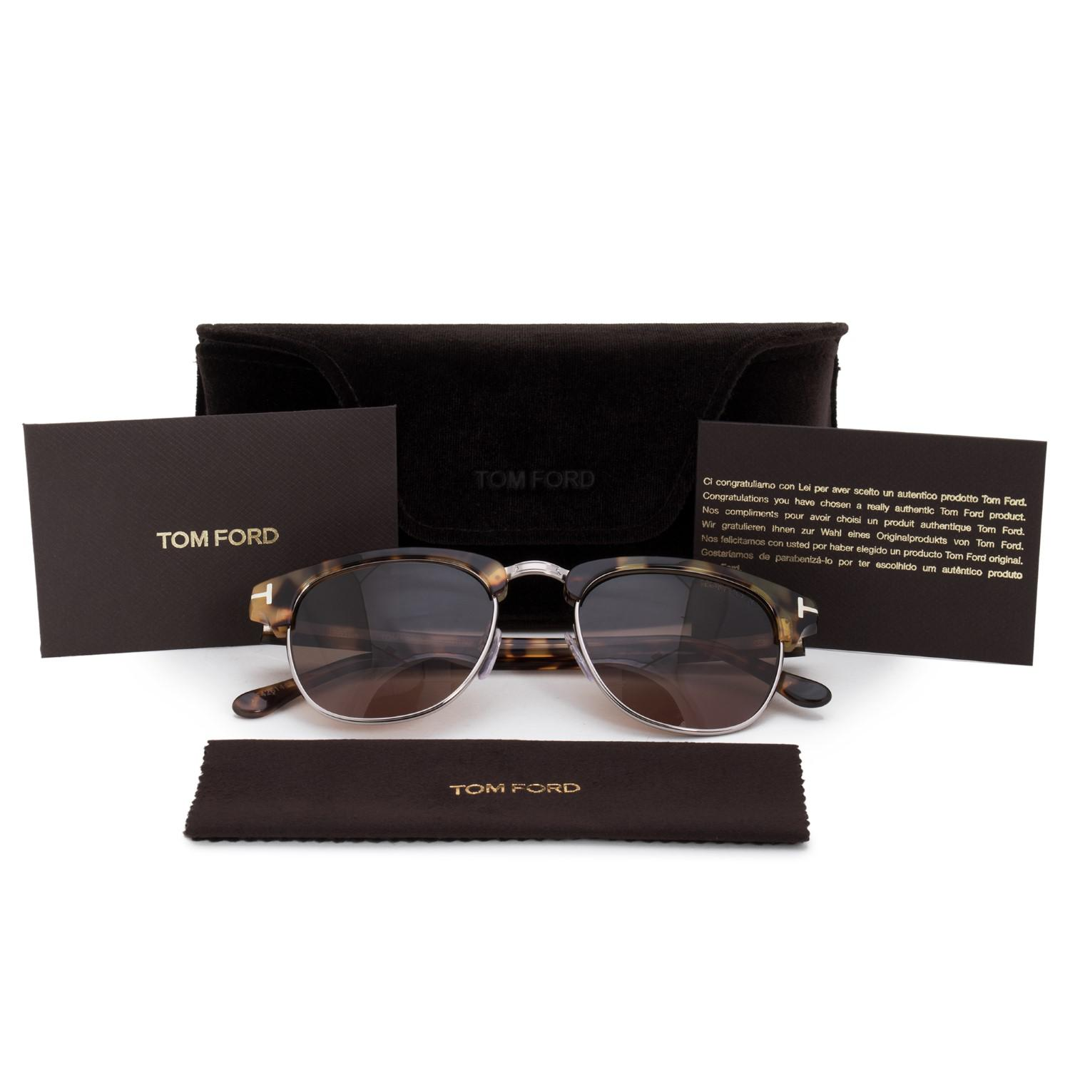 c5e0239860f Gallery. Previously sold at  Jet.com · Women s Tom Ford Henry Women s  Oversized Sunglasses ...