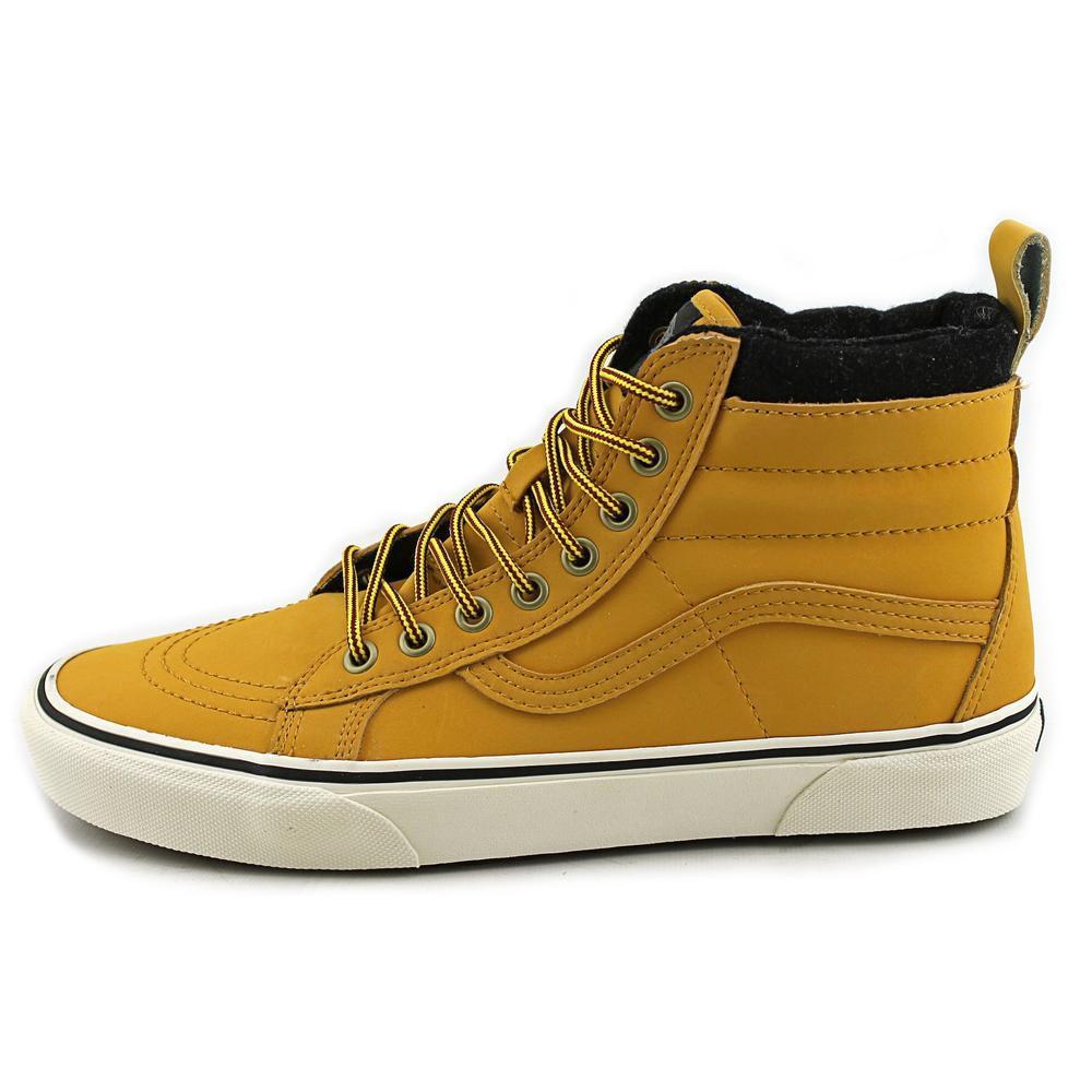9b3a9422cf3df Vans Unisex Sk8-hi Mte (mte) Honey/leather Skate Shoe 8 Men Us / 9.5 ...
