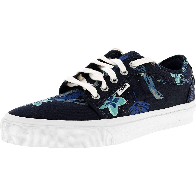 36171a246e Lyst - Vans Chukka Low Aloha Navy   Blue Ankle-high Fabric ...