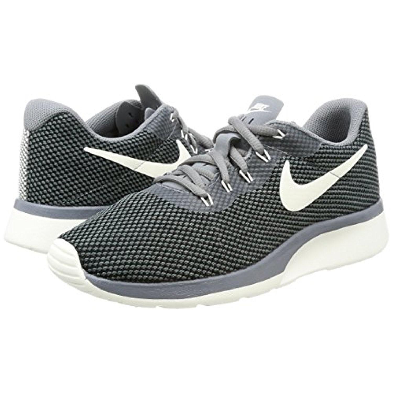ef795647a85e ... top quality lyst nike tanjun racer cool grey sail black running shoe 9  women f00a5 42f00