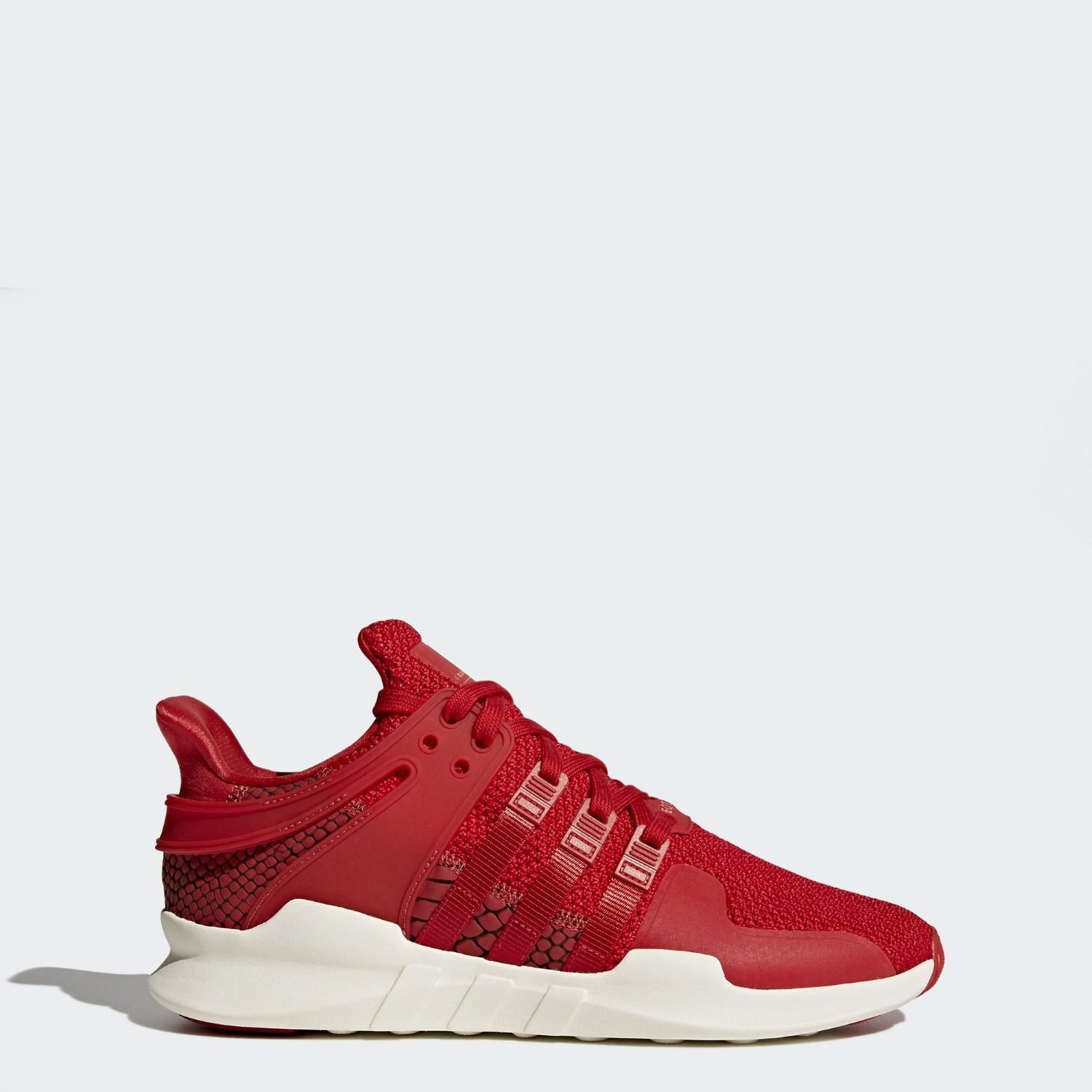 another chance a269b b9ef9 Adidas - Red Eqt Support Adv Shoes for Men - Lyst. View fullscreen