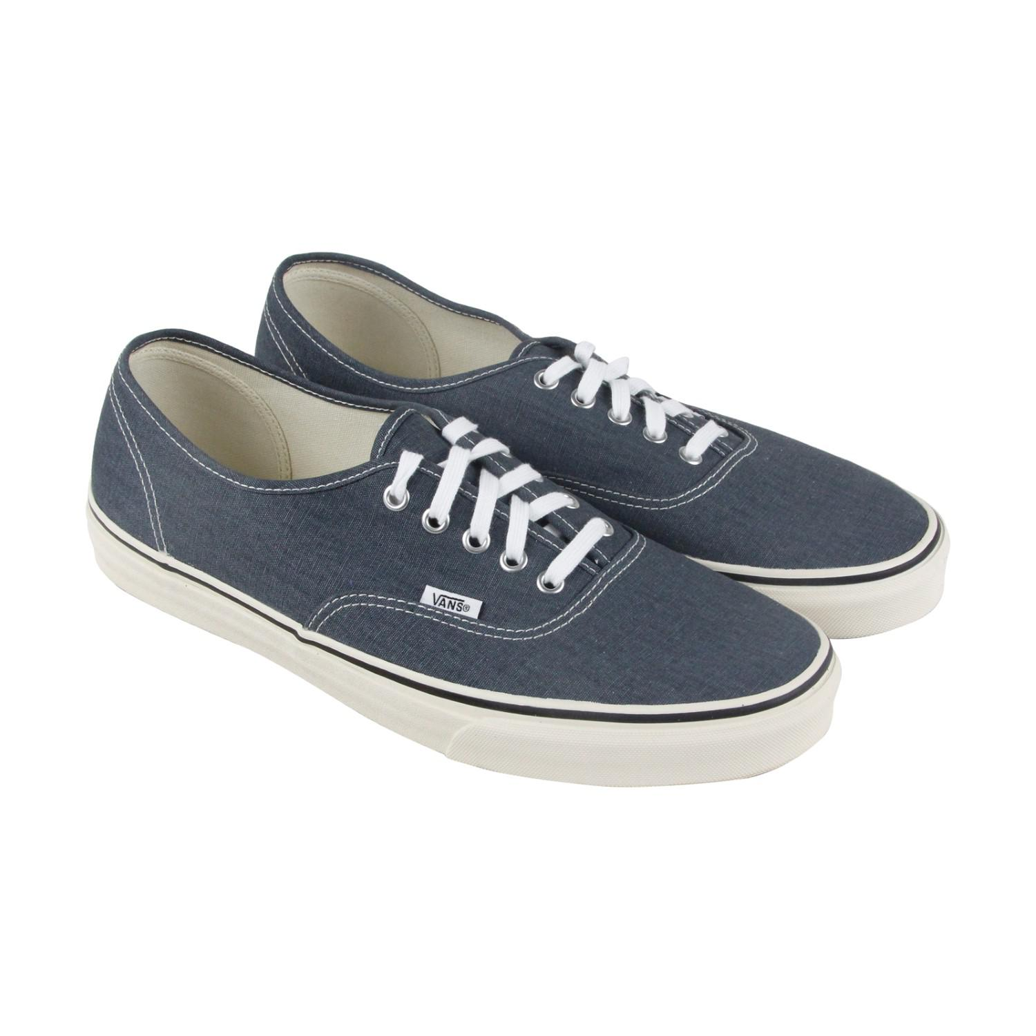 Lyst - Vans Authentic Vintage Navy Turtledove Lace Up Sneakers in ... a72988fafeeb