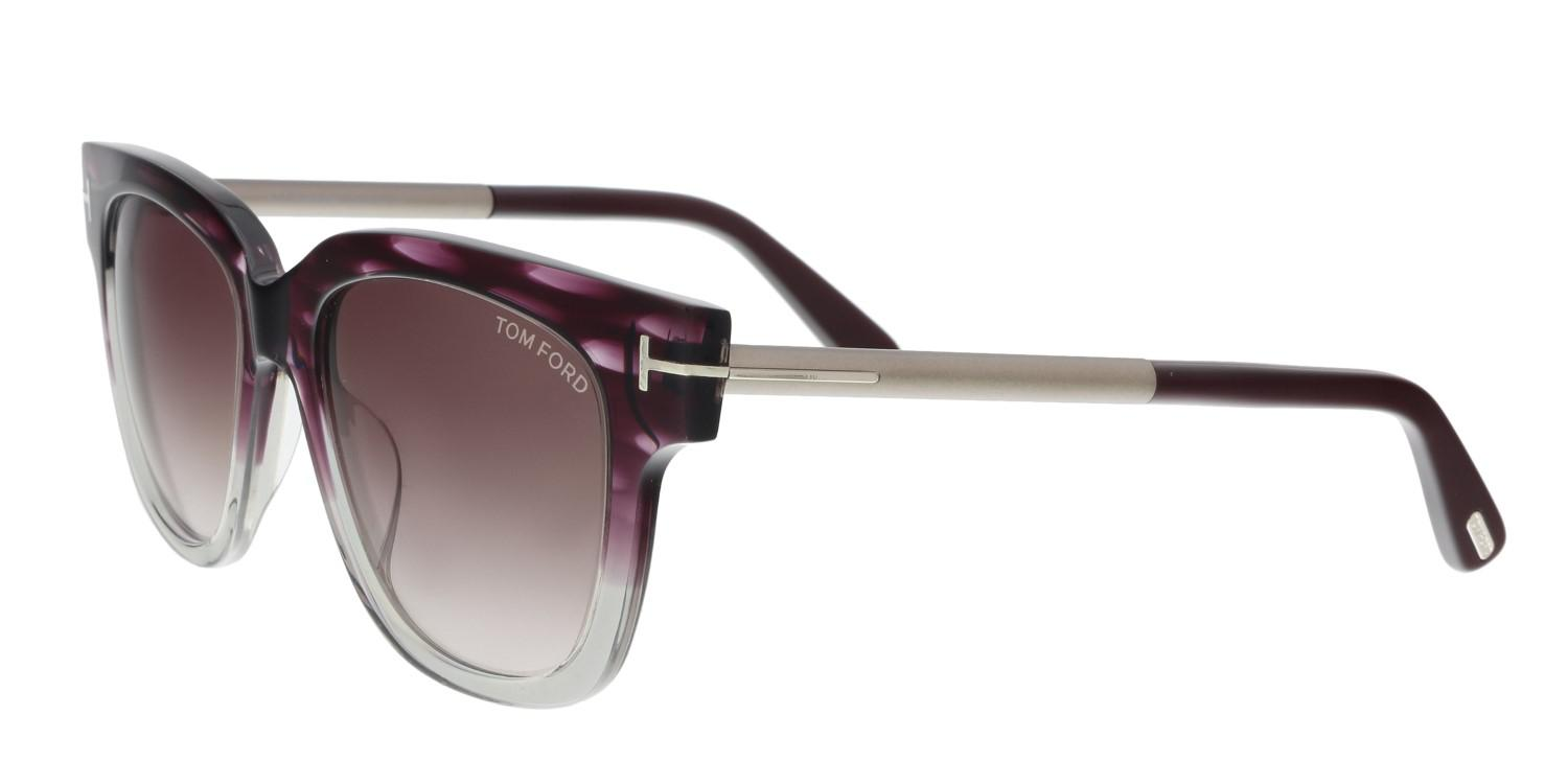 c86ef57125e52 Tom Ford Sunglasses Tracy Tf 436 Ft 83t Violet other   Gradient ...