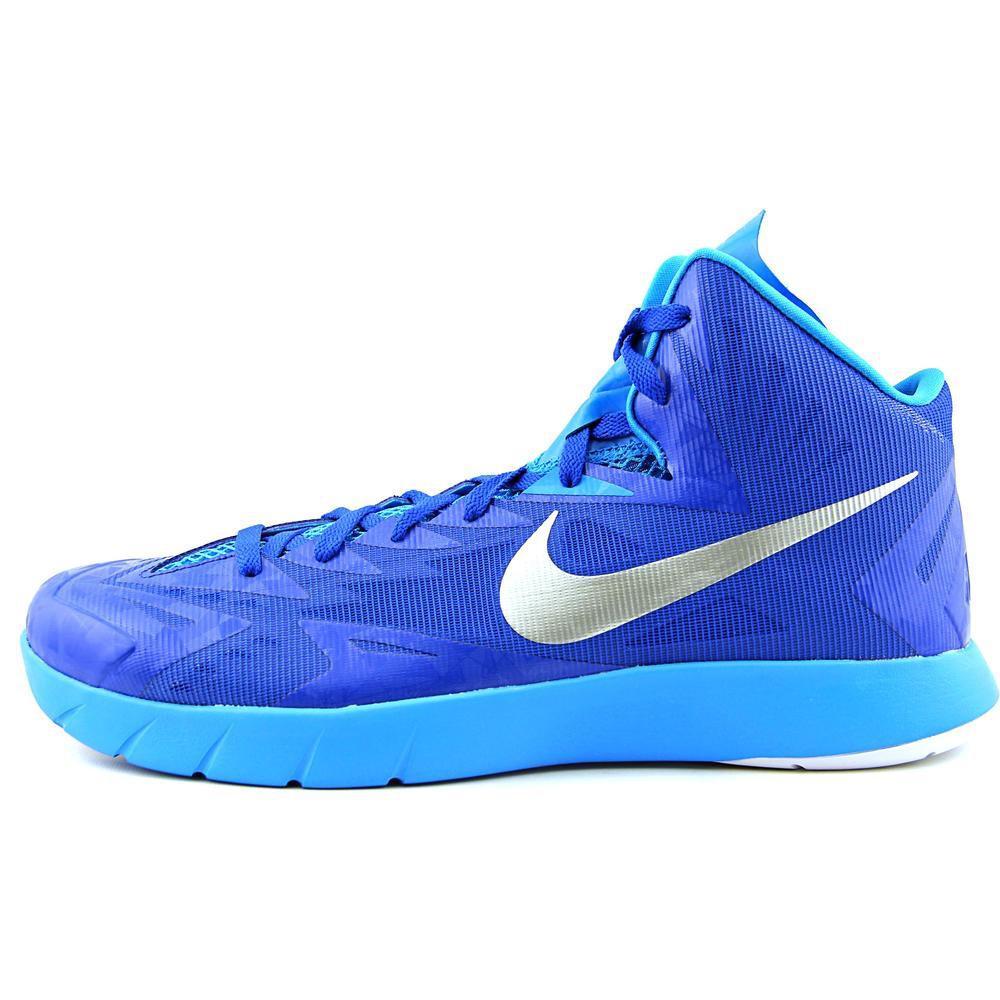 d162dad32d1b Lyst - Nike Lunar Hyperquickness Tb Blue Basketball Shoe in Blue for Men