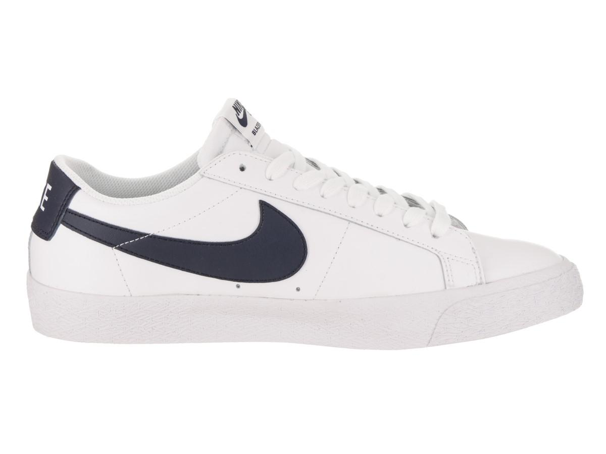 2637c86facb6 Lyst - Nike Sb Blazer Zoom Low White obsidian Skate Shoe 11.5 Men Us ...