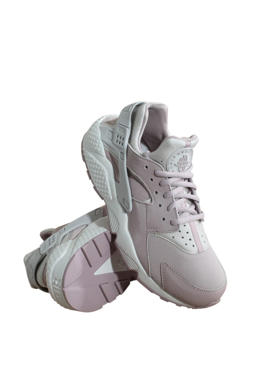 ddc6164cd601 Lyst - Nike 634835-029 Wmns Air Huarache Run Vast Grey Particle Rose ...