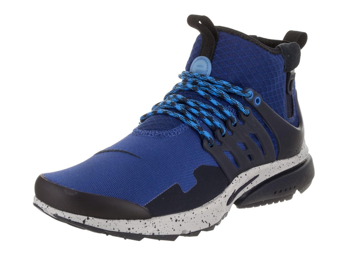 Nike. Men's Blue Air Presto Mid Utility ...