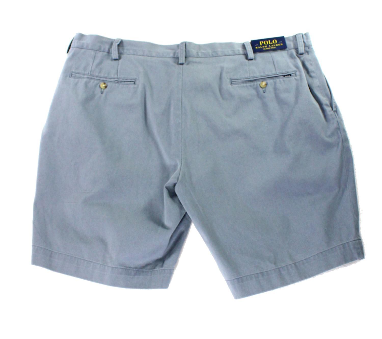 236b186fe Lyst - Polo Ralph Lauren Blue Mens Size 42 Khakis Chinos Flat-front ...