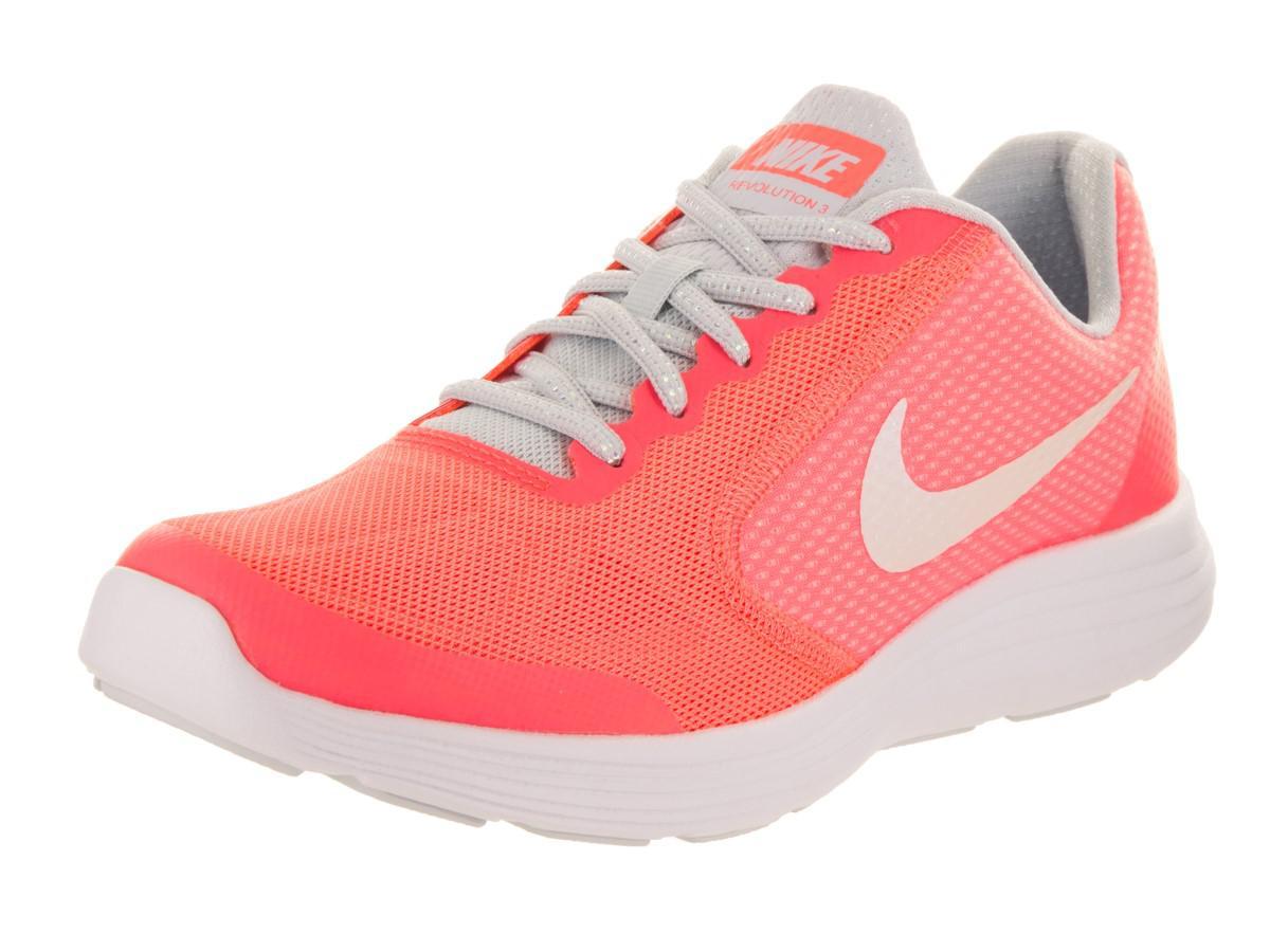 7b6e252e03 Nike Kids Revolution 3 Se (gs) Lava Glow/white Pure Platinum Running ...