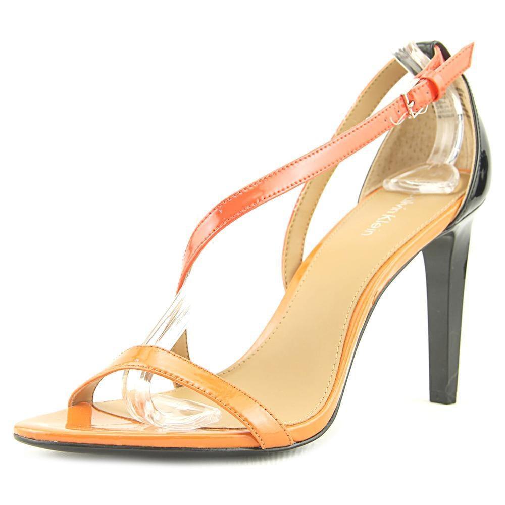 cc2d3238cf9 Lyst - Calvin Klein Narella Women Us 8 Multi Color Sandals