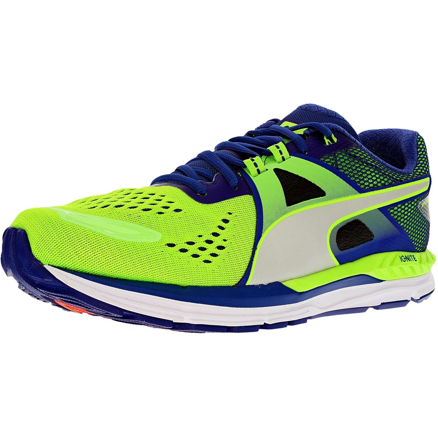 e8b37d0ebf9d51 Lyst - Puma Speed 600 Ignite Green Gecko surf silver Ankle-high ...