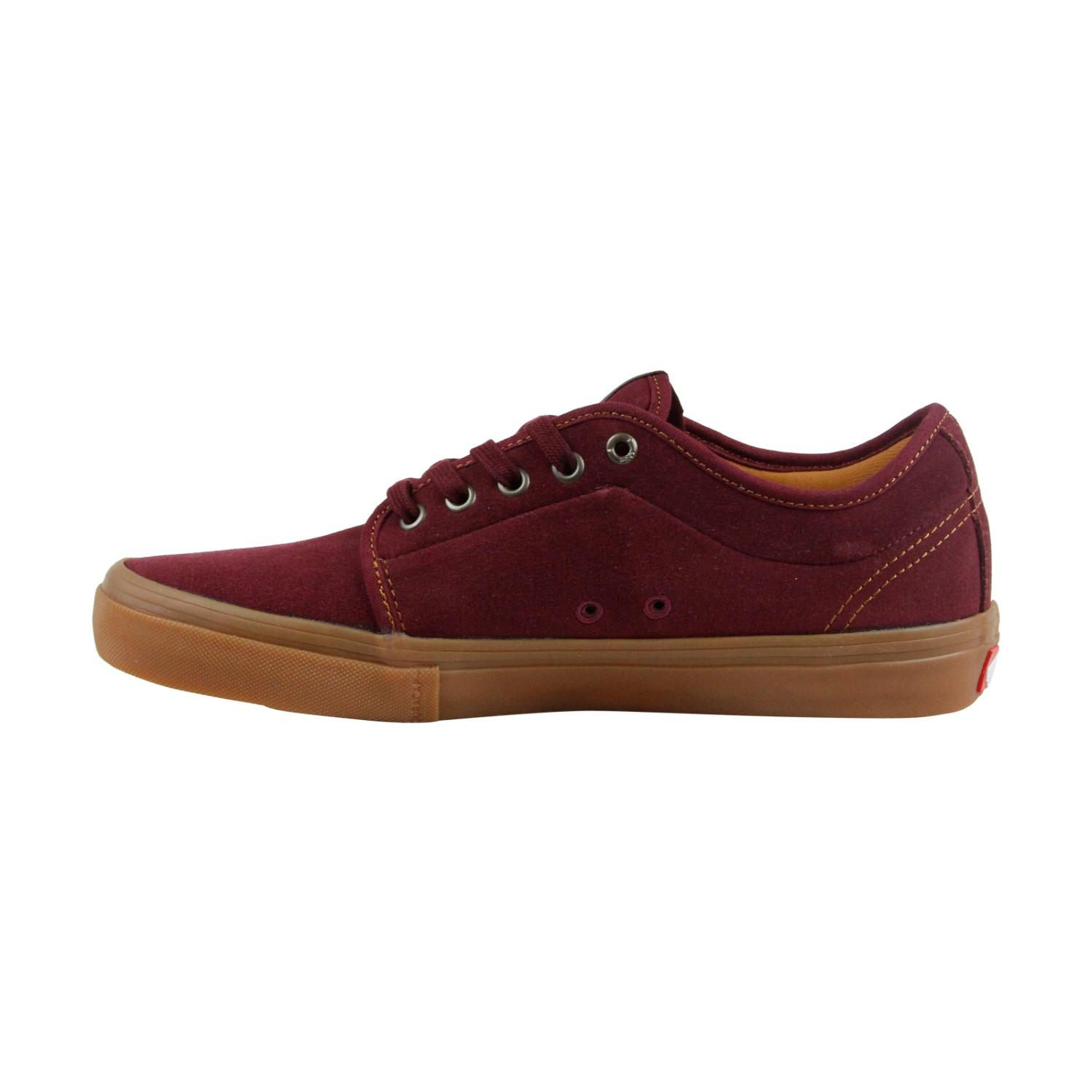 638b609d2ef Lyst - Vans Chukka Low Pro Port Gum Mens Lace Up Sneakers in Red for Men