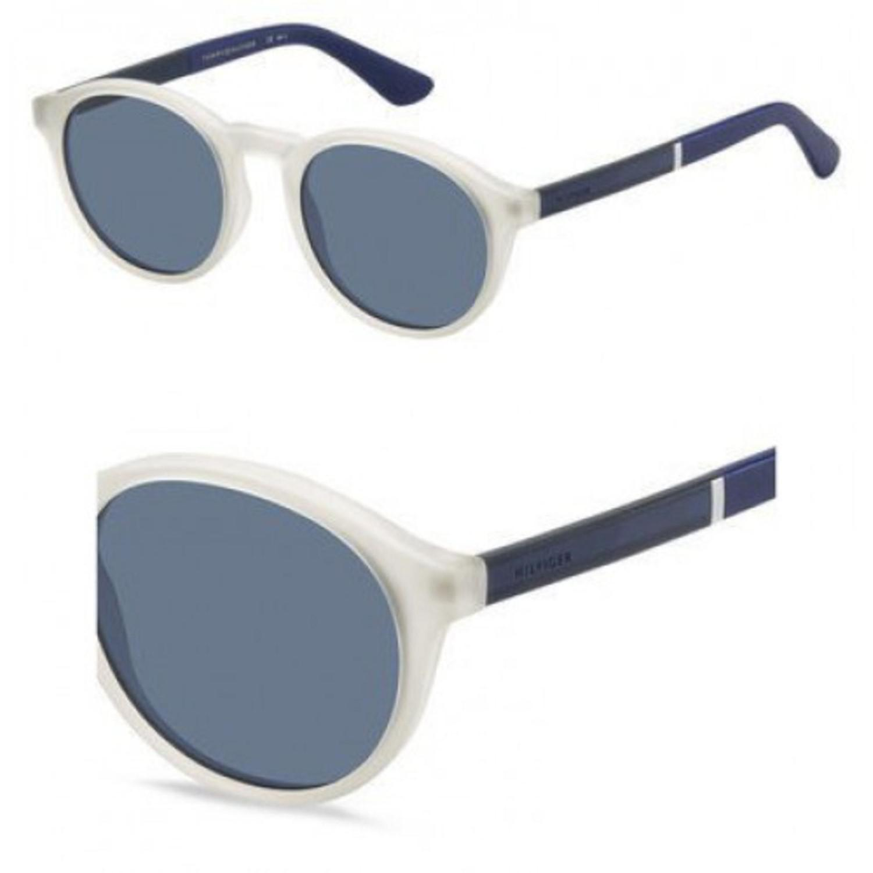 8d7c3801205ab Lyst - Tommy Hilfiger Sunglasses Th 1476  s 0900 Crystal   Ku Blue ...