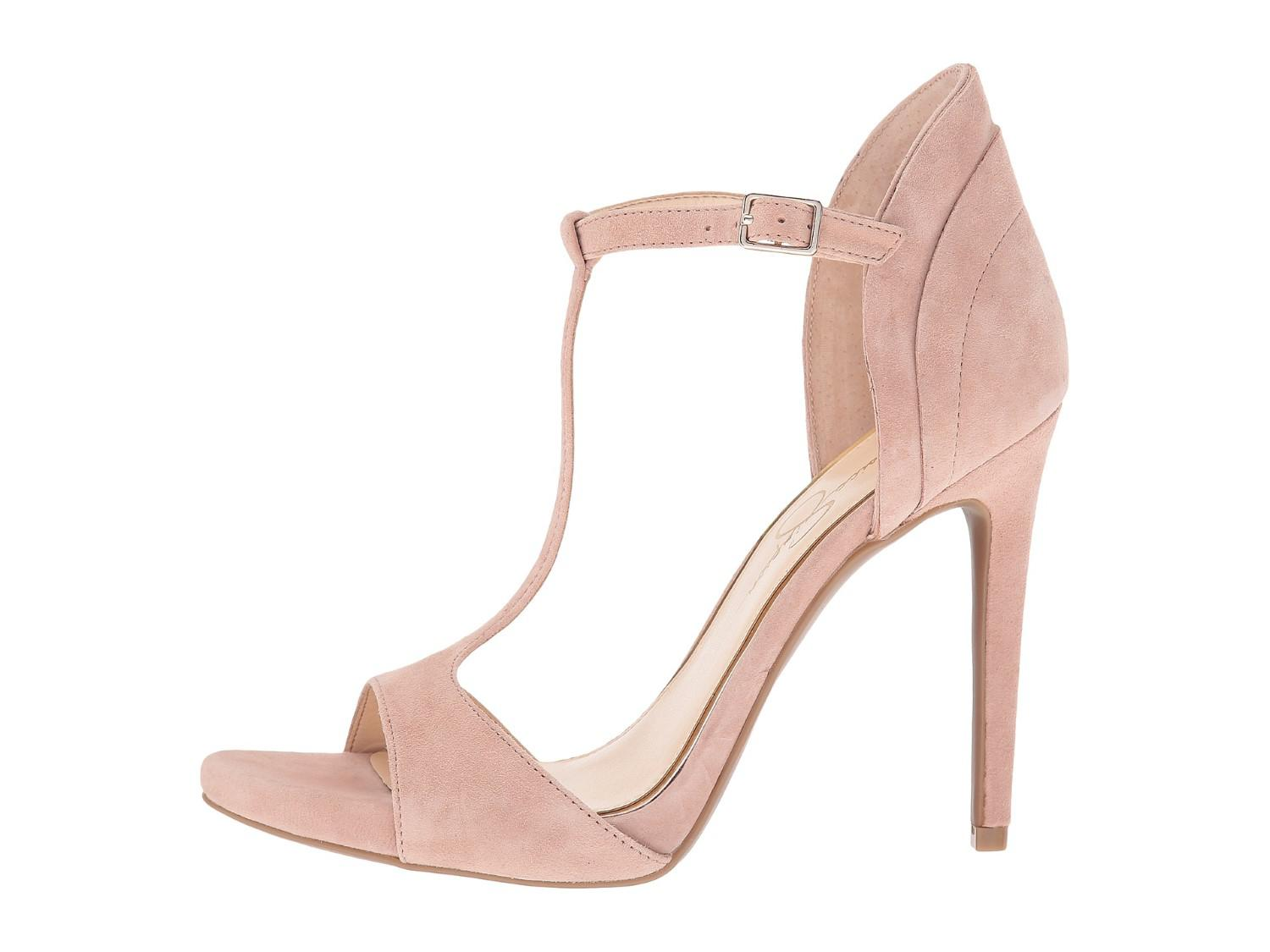 05a7cce4b736 Lyst - Jessica Simpson Bethani Wedge Pump Dark Sandbar in Pink