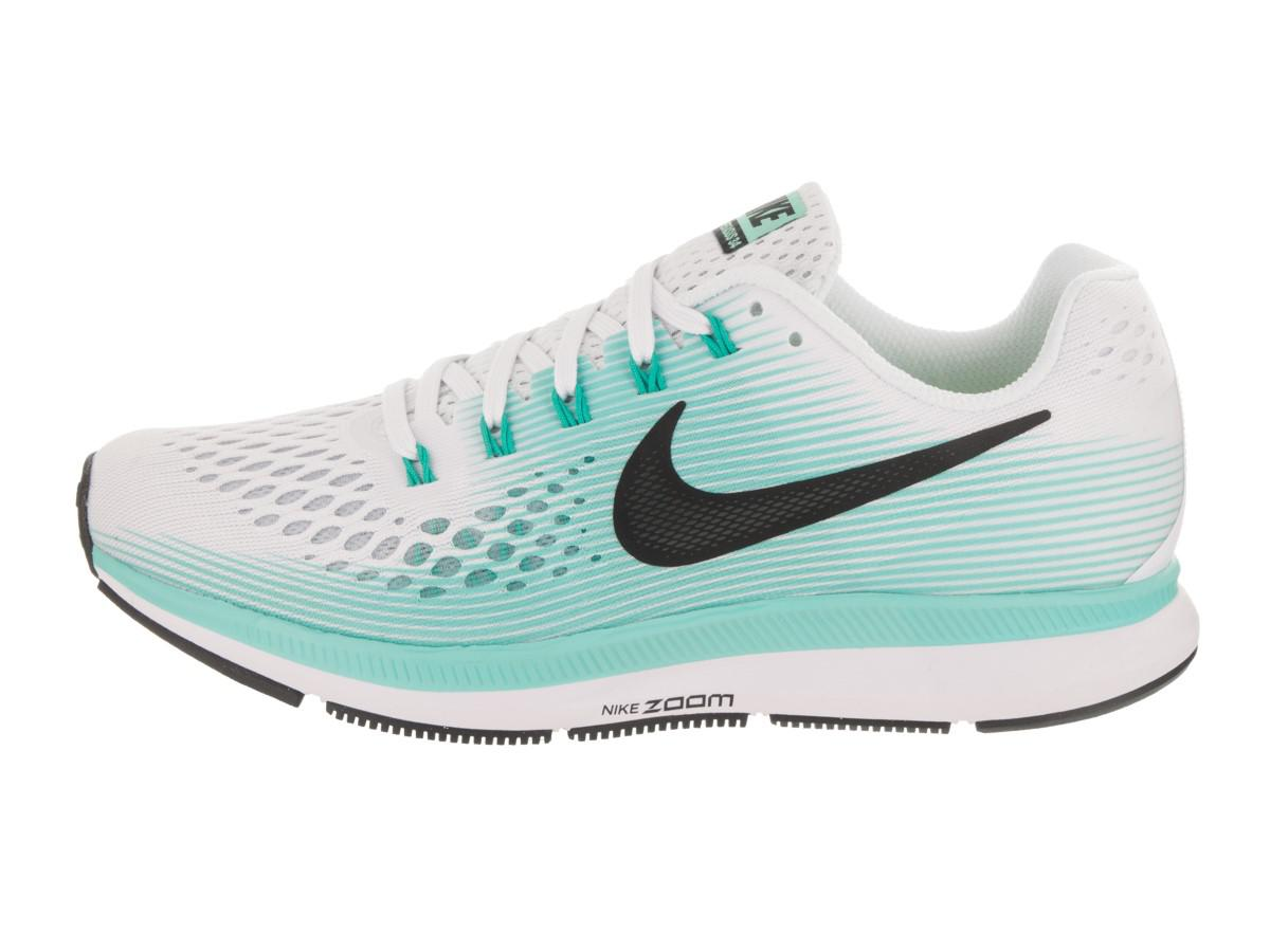 huge selection of d845f 53e4f Nike Air Zoom Pegasus 34 White/black Aurora Green Running Shoe 7 ...