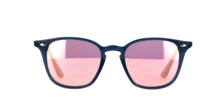 5a46b1673f Lyst - Ray-Ban Sunglasses Rb 4258 F 62321t Shiny Opal Dark Azure in Blue