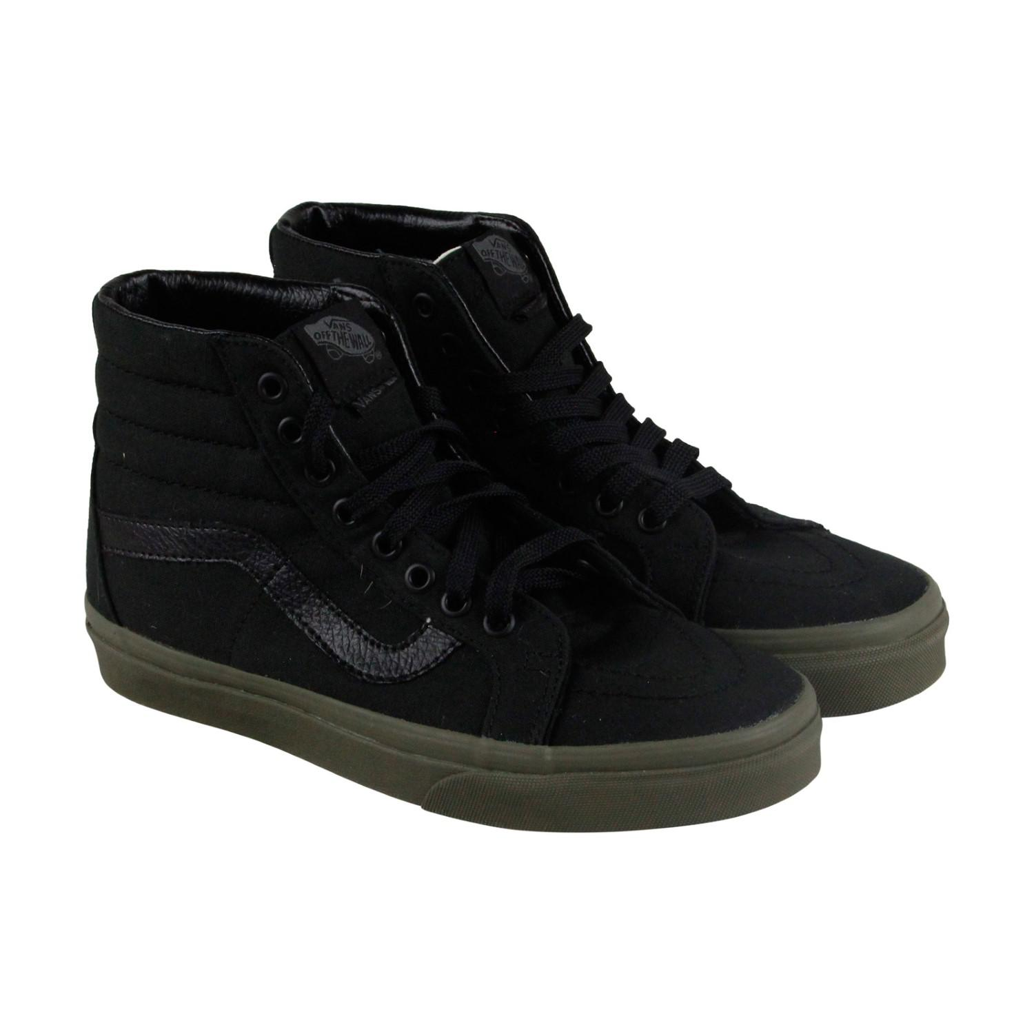 213c21627f1 Lyst - Vans Sk8 Hi Reissue Ivory Green High Top Sneakers in Black ...