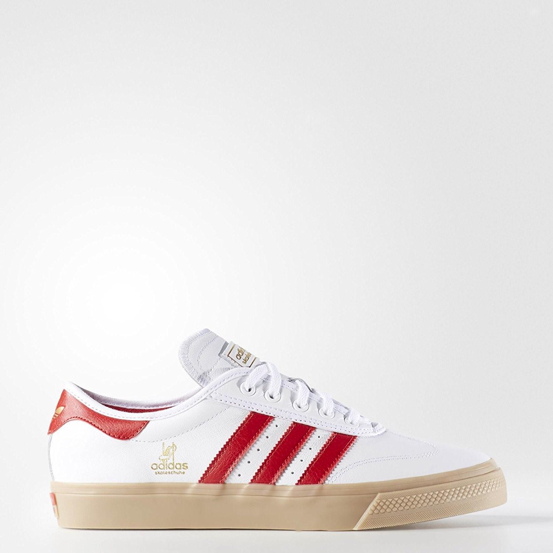 Lyst - Adidas Originals Adi-ease Universal Adv (white scarlet gold ... e7b3fcb0f