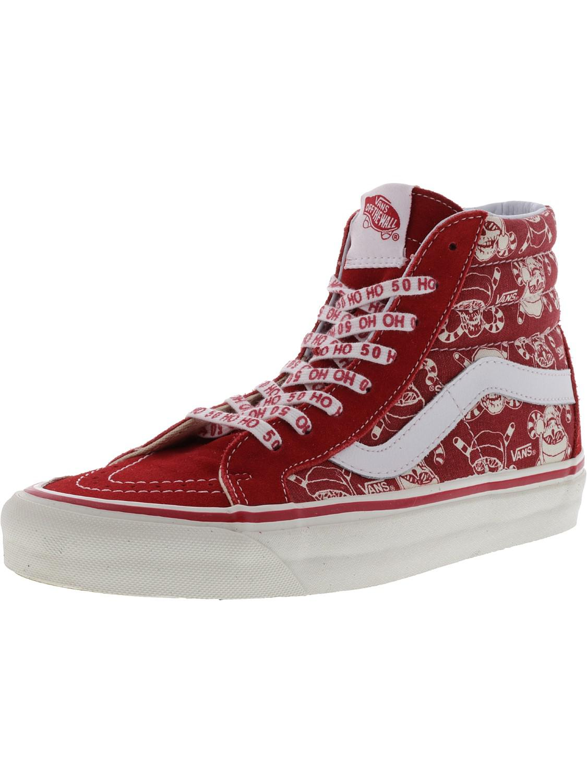 16344687d8 Lyst - Vans Sk8-hi 38 Reissue 50th Stv   Pirate Santa Red Ankle-high ...