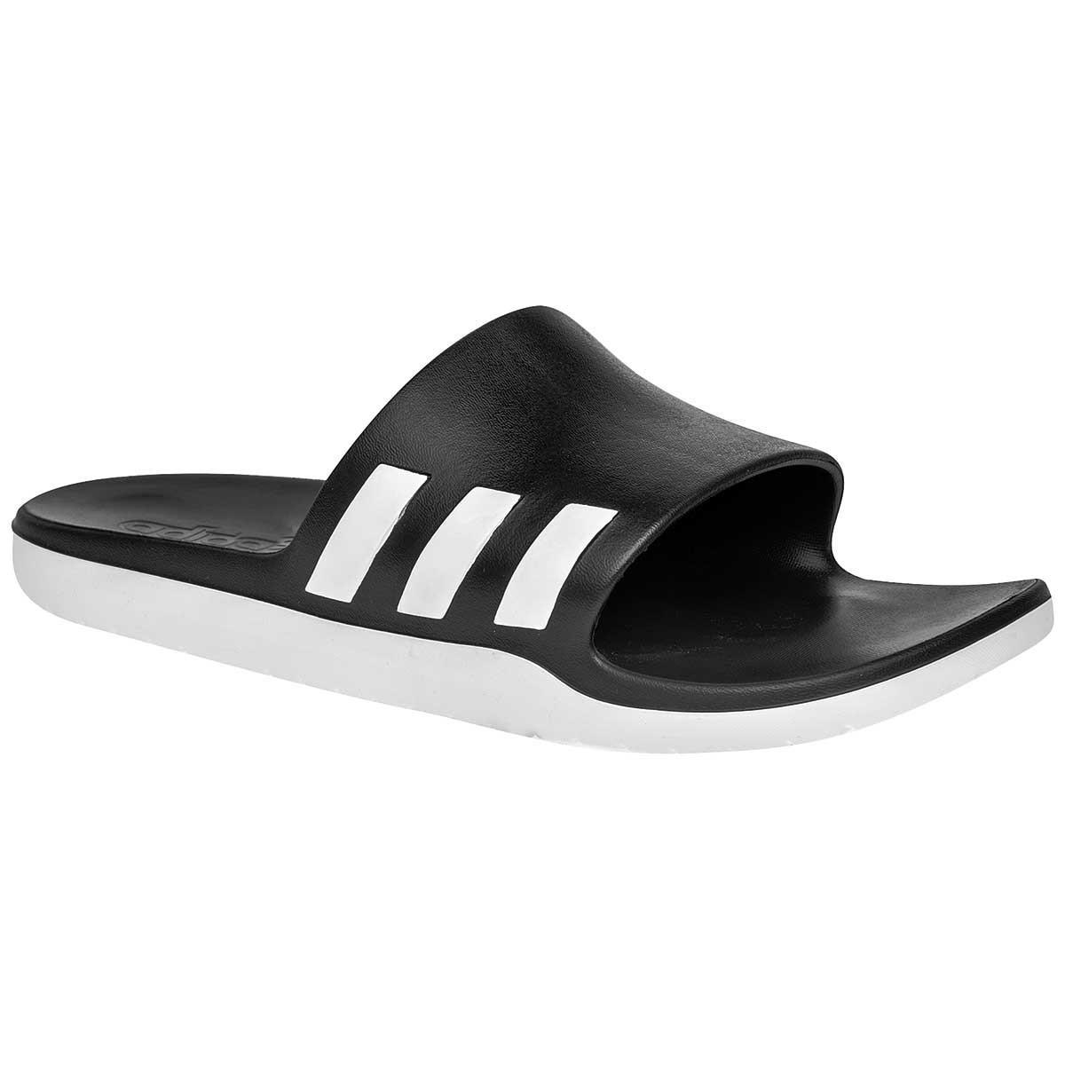 online store caf7b fdde4 Lyst - adidas Aqualette Cloudfoam Slides in Black for Men