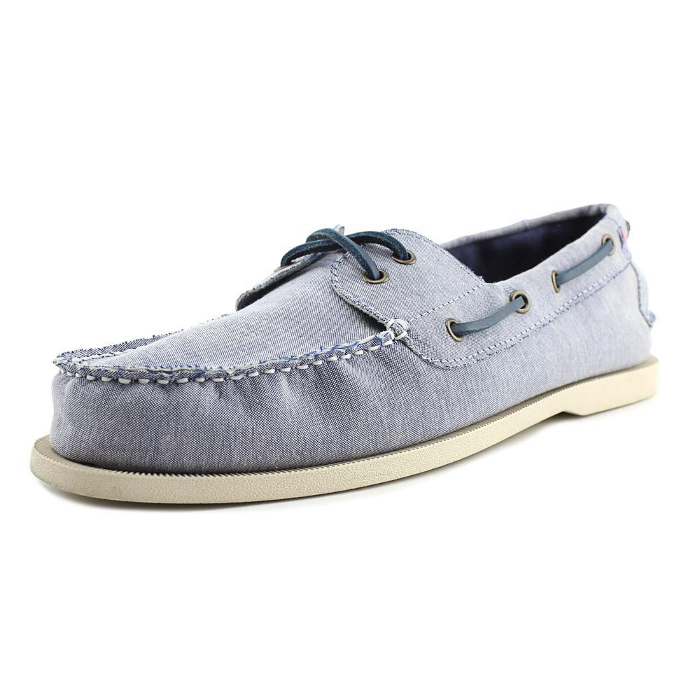 ebec4073a610 Lyst - Tommy Hilfiger Bowman 5 Boat Shoes in Blue for Men