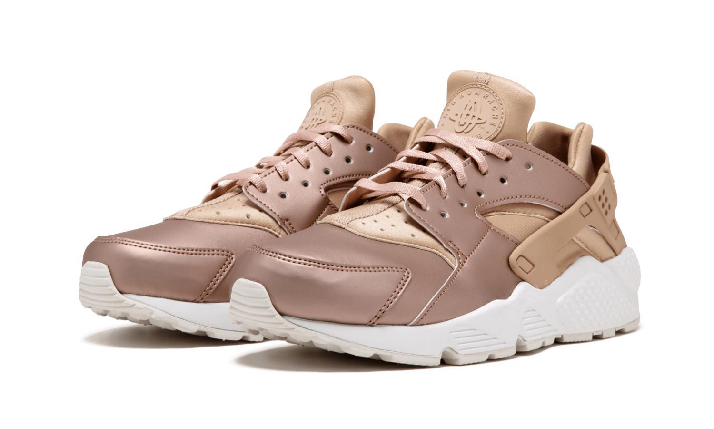 7158a93e1a93 Lyst - Nike Air Huarache Run Premium Txt Running Shoes in Metallic