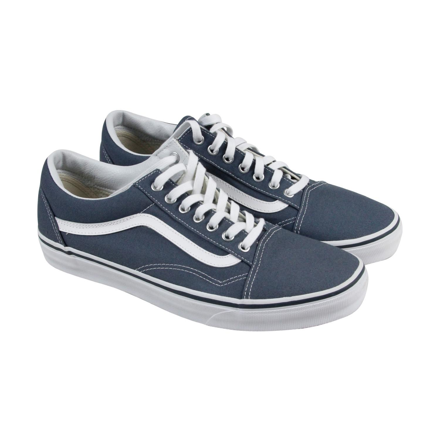 06a066bc59 Lyst - Vans Unisex Old Skool (canvas) Dark Slate true Skate Shoe ...