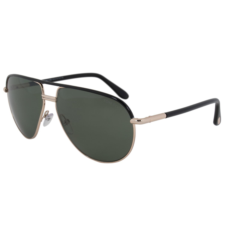 b7677c83e1 Lyst - Tom Ford Ft0285 Cole Aviator Sunglasses in Black for Men