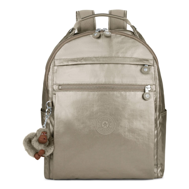 Lyst - Kipling Micah Medium 15  Laptop Backpack in Gray 6d9dce1aeb4b3