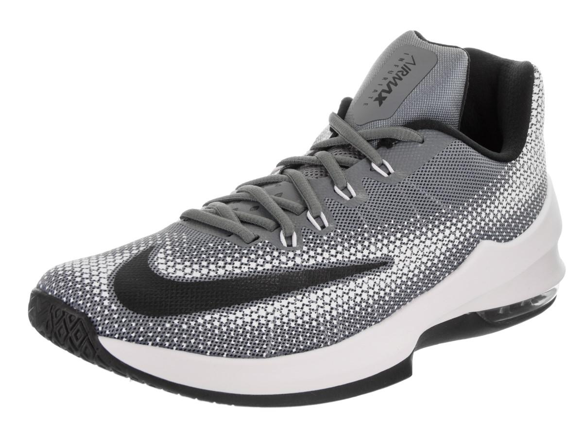 new arrival 16c64 ee646 Lyst - Nike Air Max Infuriate Low Coolgrey black white Basketball ...