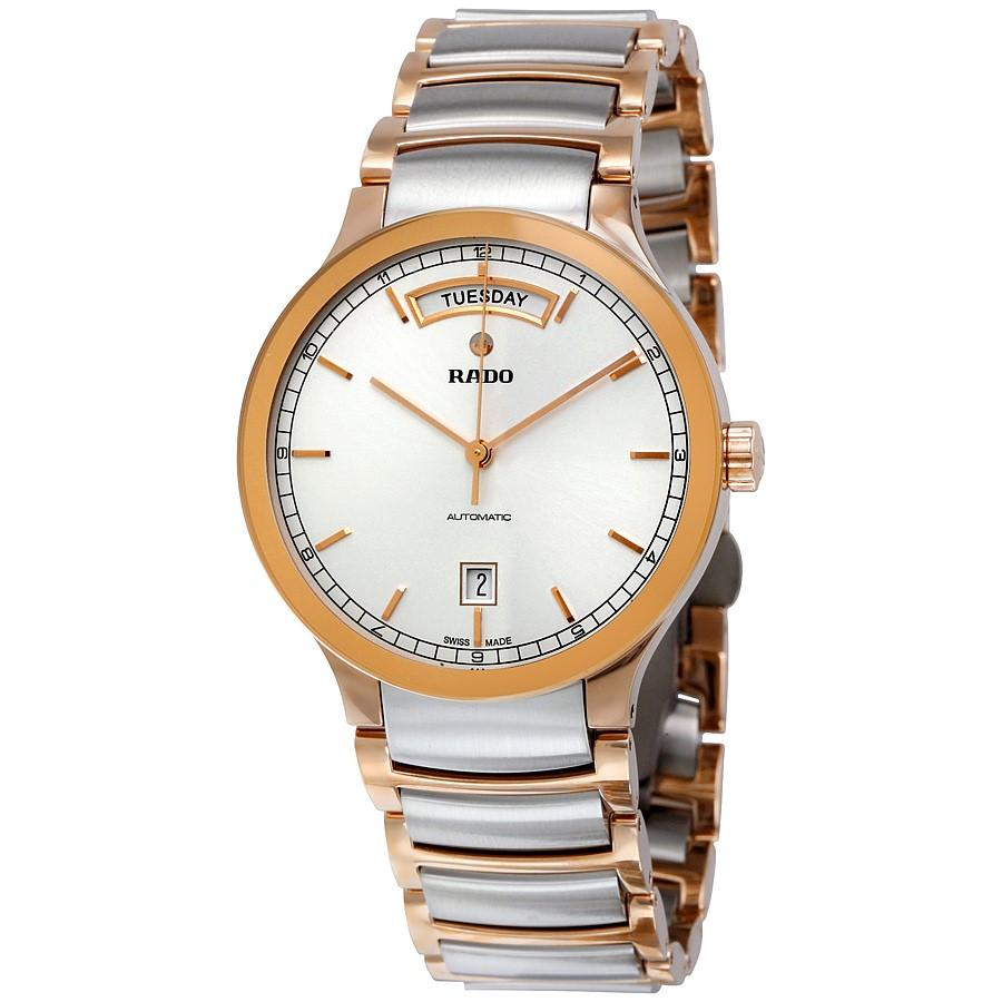 63cf495a5 Lyst - Rado Centrix Day-date White Dial Watch R30158113 in White for Men